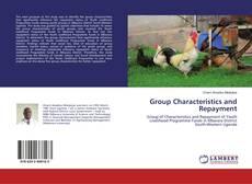 Group Characteristics and Repayment kitap kapağı