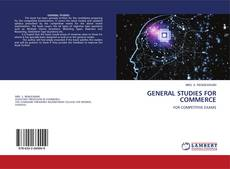 GENERAL STUDIES FOR COMMERCE的封面