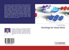Couverture de Sociology for Social Work