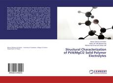 Обложка Structural Characterization of PVA/MgCl2 Solid Polymer Electrolytes