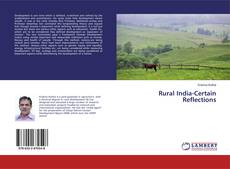 Bookcover of Rural India-Certain Reflections