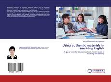 Using authentic materials in teaching English的封面