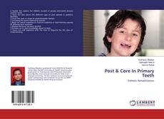 Portada del libro de Post & Core In Primary Teeth