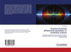 Bookcover of Fractional partial differential equations in nonlinear science