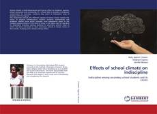 Capa do livro de Effects of school climate on indiscipline