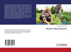 Bookcover of Modern Weed Science