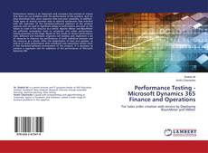 Portada del libro de Performance Testing - Microsoft Dynamics 365 Finance and Operations