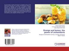 Copertina di Orange and lemon: the power of antioxidants