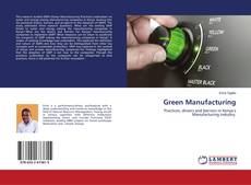 Couverture de Green Manufacturing