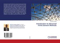 Bookcover of Introduction to Advanced Finite Element Methods