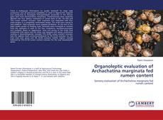 Organoleptic evaluation of Archachatina marginata fed rumen content的封面