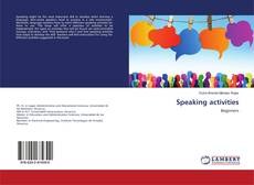 Buchcover von Speaking activities