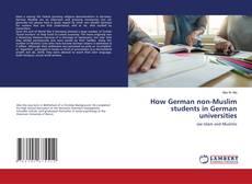 Bookcover of How German non-Muslim students in German universities