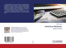 Bookcover of Statistical Methods: