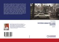 Buchcover von SYSTEM ANALYSIS AND DESIGN