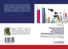 Buchcover von Технология И Экономика Ликвидации Лигниновых Отвалов