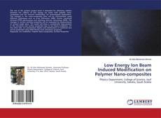 Buchcover von Low Energy Ion Beam Induced Modification on Polymer Nano-composites