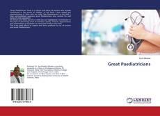 Обложка Great Paediatricians