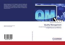 Portada del libro de Quality Management