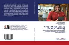 Capa do livro de Covid-19 New E-Learning Education Technology