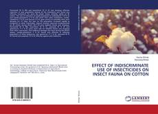 Обложка EFFECT OF INDISCRIMINATE USE OF INSECTICIDES ON INSECT FAUNA ON COTTON
