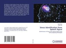 Bookcover of Stress Identification from Speech Signal