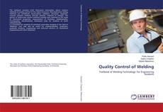 Обложка Quality Control of Welding