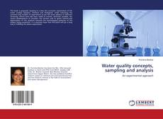 Обложка Water quality concepts, sampling and analysis