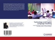 Capa do livro de Technology and English Language Teaching