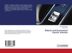 Bookcover of Robust and Economical Electric Vehicles