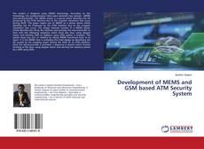 Capa do livro de Development of MEMS and GSM based ATM Security System