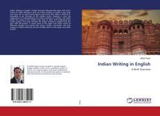 Indian Writing in English的封面