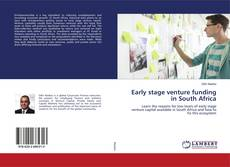 Bookcover of Early stage venture funding in South Africa