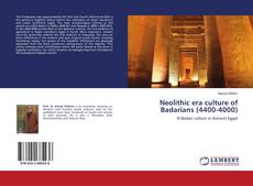Couverture de Neolithic era culture of Badarians (4400-4000)