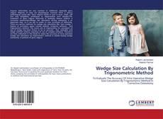 Buchcover von Wedge Size Calculation By Trigonometric Method