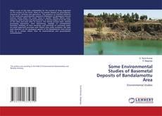 Some Environmental Studies of Basemetal Deposits of Bandalamottu Area的封面