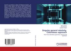 Buchcover von Singular general relativity. Colombeau approach