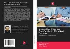 Capa do livro de Uma Análise Crítica das Questões de EFL/ESL a Nível Terciário