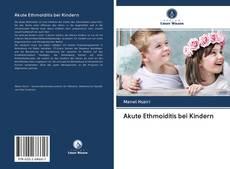 Обложка Akute Ethmoiditis bei Kindern