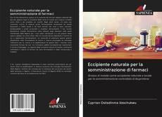 Eccipiente naturale per la somministrazione di farmaci kitap kapağı