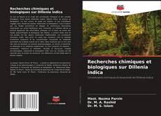 Bookcover of Recherches chimiques et biologiques sur Dillenia indica