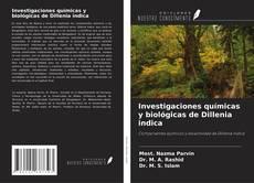 Bookcover of Investigaciones químicas y biológicas de Dillenia indica