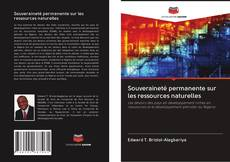 Copertina di Souveraineté permanente sur les ressources naturelles
