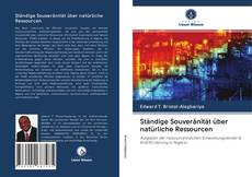 Ständige Souveränität über natürliche Ressourcen kitap kapağı