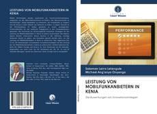 Bookcover of LEISTUNG VON MOBILFUNKANBIETERN IN KENIA