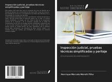 Bookcover of Inspección judicial, pruebas técnicas simplificadas y peritaje