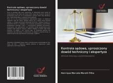 Обложка Kontrola sądowa, uproszczony dowód techniczny i ekspertyza