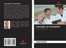 Capa do livro de Concepts of evaluation in the educational field