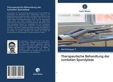 Therapeutische Behandlung der lumbalen Spondylose kitap kapağı