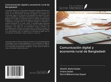 Portada del libro de Comunicación digital y economía rural de Bangladesh